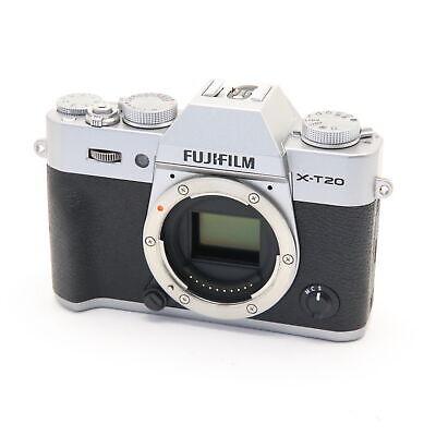 Fujifilm Fuji X-T20 24.3MP Mirrorless Digital Camera Body (Silver) #287