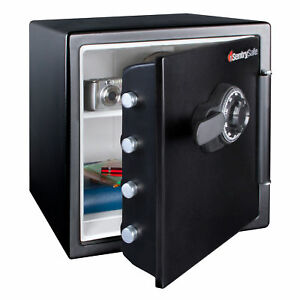 SentrySafe 1.23 Cu. Ft. Large Combination Lock Water & Fireproof Security Safe