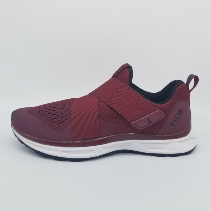 TIEM Slipstream Red Merlot SPD Cycling Choes Womens Size 7