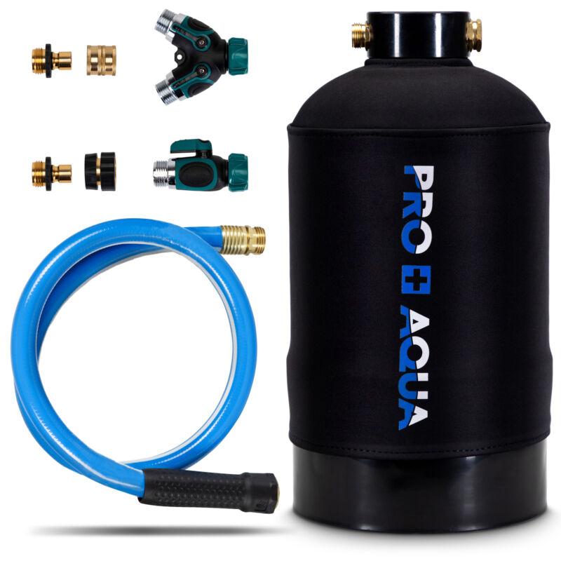Portable RV Water Softener Pro Grade 16,000 Grain, Trailers, Boats, Car Washing