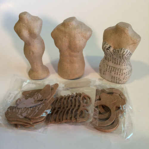 """Paper Mache Darling Divas 4"""" Doll Body Crafting Project - New With Tags - U Pick"""