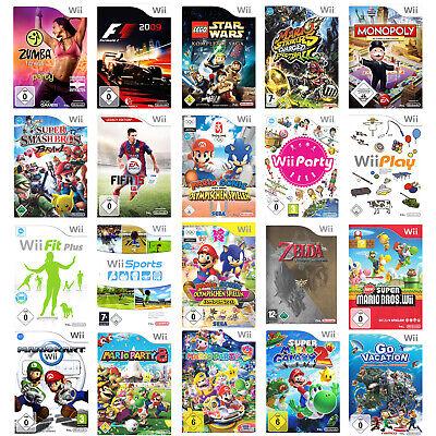 Nintendo Wii Spiele Zelda, New Mario Galaxy Kart Party, Smash Bros. Donkey Kong