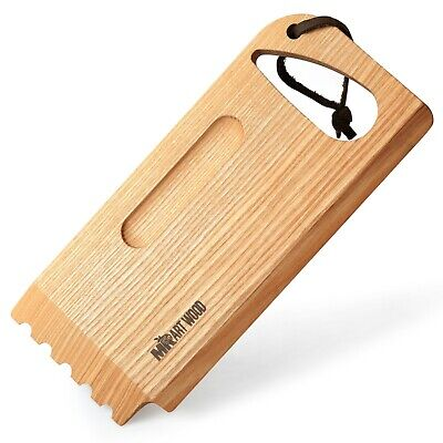BBQ and Grill Cleaner Wooden Scraper Tool Best for Griddle Outdoor (Best Wood Cooking Utensils)