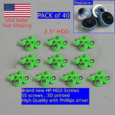 40X HP HDD Mounting Screws 6000 6005 Pro 8000 8100 EliteDesk ProDesk G1 G2 USFF comprar usado  Enviando para Brazil