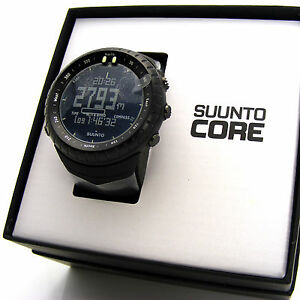 NEW Suunto Core All Black Military Outdoor Sports Watch SS014279010
