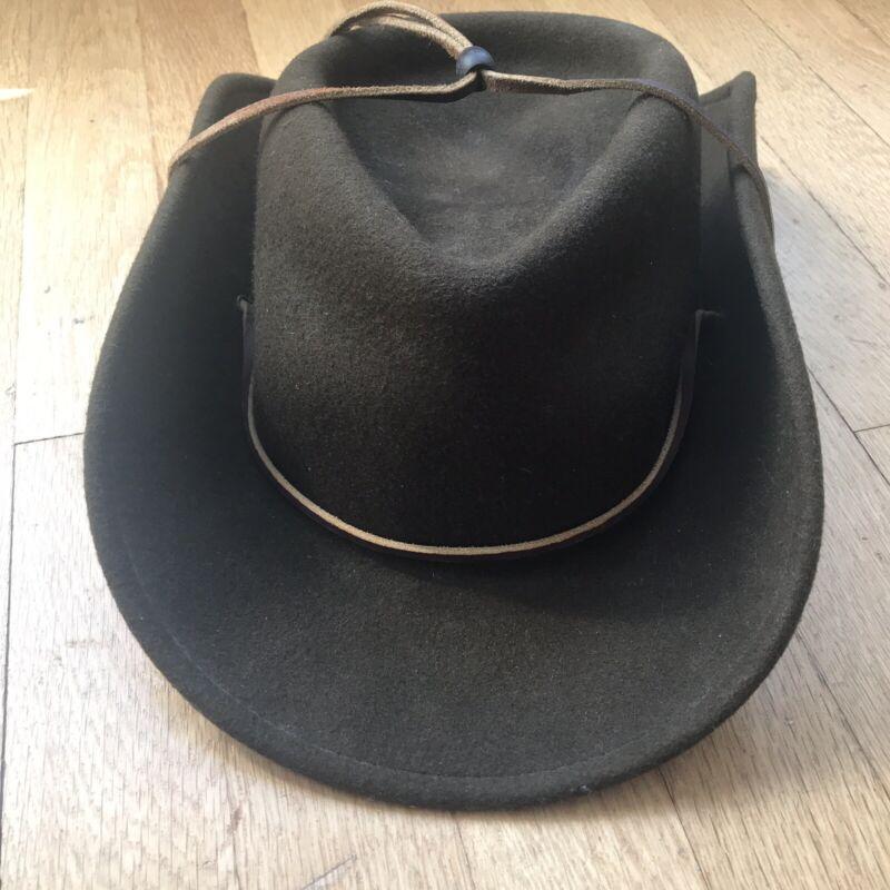 Adult Size Large  BSA Boy Scout Wool Felt Brimmed Hat