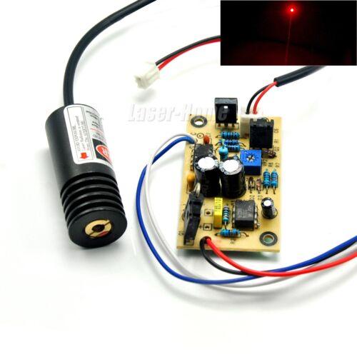 650nm 658nm 660nm 100mW Red Laser Dot Diode Module 5V w/ Driver TTL 18x45mm