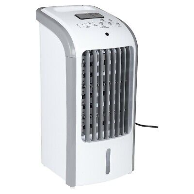 Portable Air Cooler Unit Ice Water Fan Humidifier Timer 3 Settings AC W/Remote
