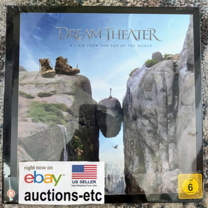 Dream Theater - A View From The Top Of The World 2xCD Blu-ray Artbook NEW