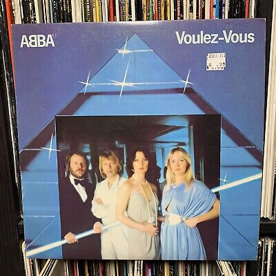 ABBA LP VOULEZ VOUS 1979 VINYL RECORD DOES YOUR MOTHER KNOW SD-16000 VG+