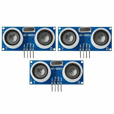 3pcs Arduino Ultrasonic Hc-sr04 Distance Measuring Sensor