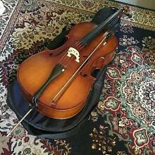 Cello 4/4 full size with bow and soft case Adelaide CBD Adelaide City Preview