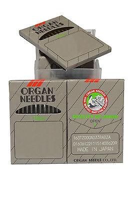 50 Organ Needles 135x17 Dpx17 Sy3355 Size 16 For Walking Foot Singer Juki