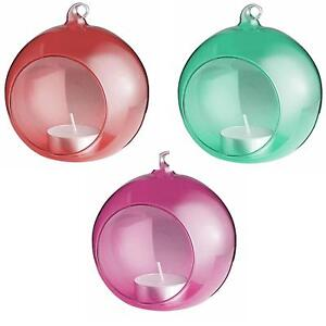 Glass Baubles Christmas Decorations Trees Ebay