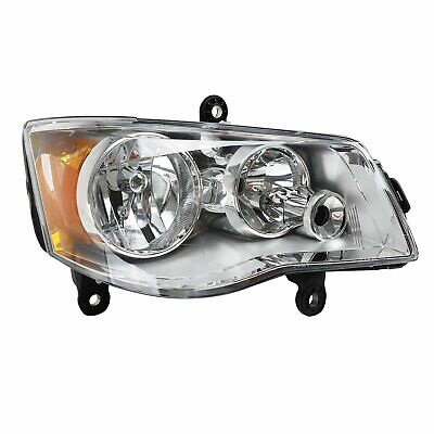 Headlight Right Side For 08-16 Chrysler Town & Country 11-17 Dodge Grand Caravan
