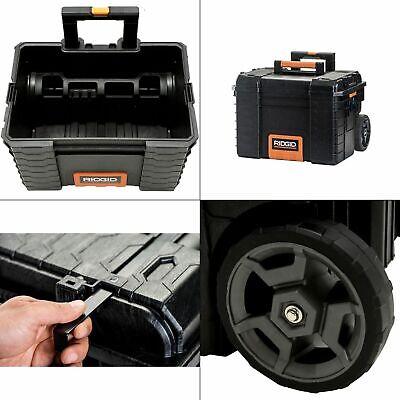Tool Box Gear Cart Storage Portable Rolling Organizer Chest Heavy Duty Pro Rigid