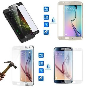 film protection cran verre tremp total incurve samsung galaxy s8 s7 edge plus ebay. Black Bedroom Furniture Sets. Home Design Ideas