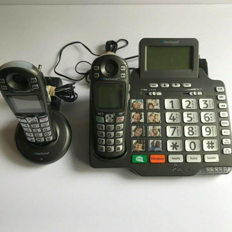 ClearSounds A1600BUN Amplified 2 Cordless Phones