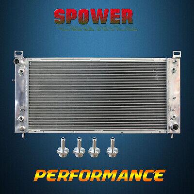 3-ROW/CORE Aluminum Radiator For Cadillac Escalade Chevrolet GMC 99-14 44mm core