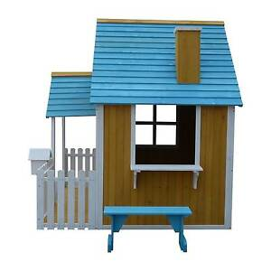 Outdoor Wooden Timber Ground Level Cubby House Play House Mandurah Mandurah Area Preview