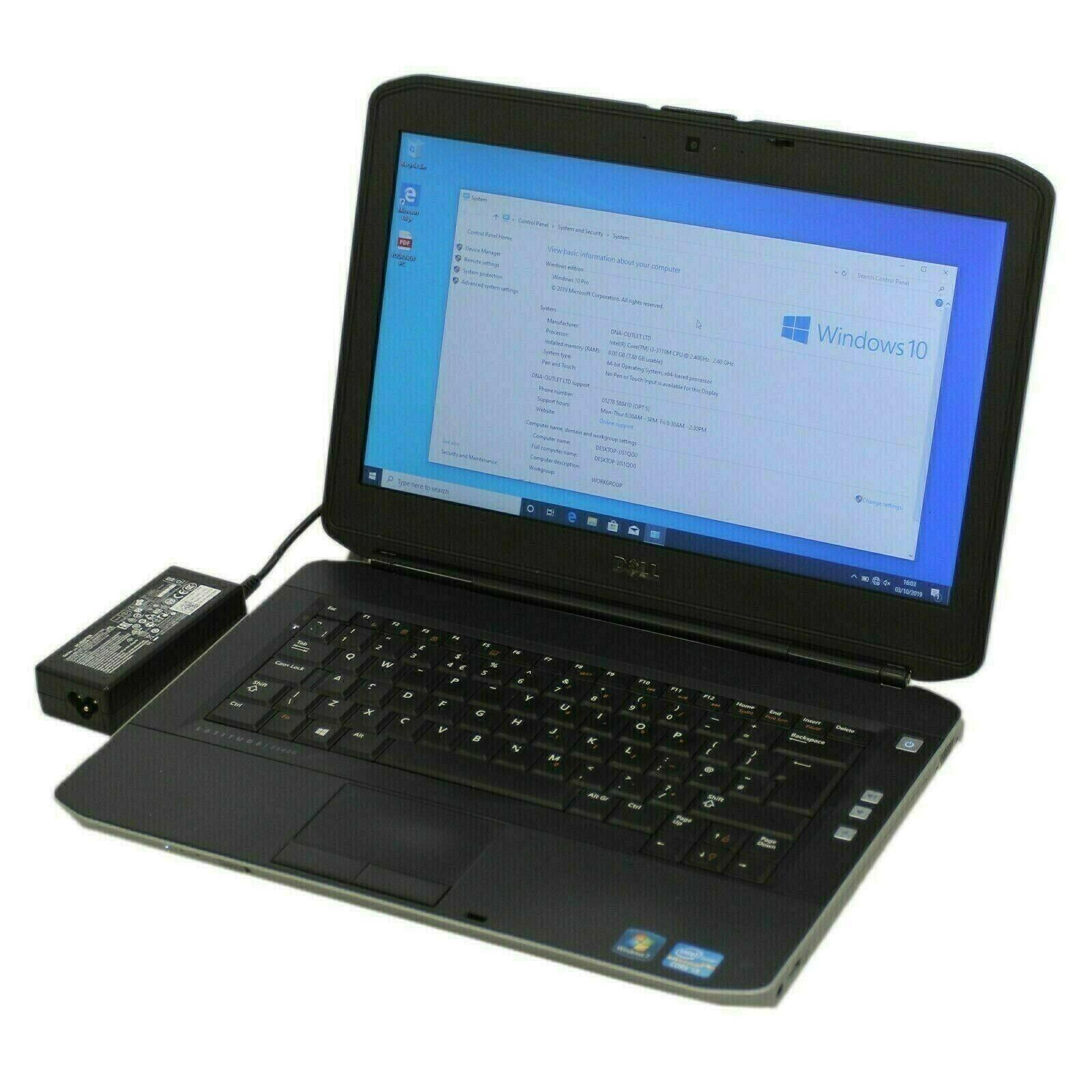 Laptop Windows - Dell Latitude E5420 Intel Core i3 2.2GHz/4GB/320GB/Windows 10 Home -
