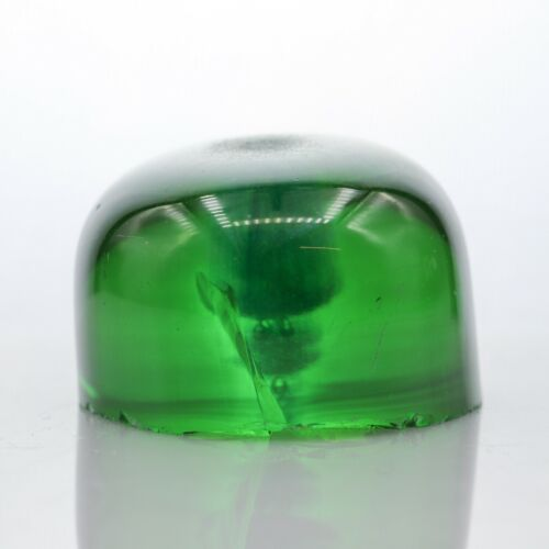 43.6gr Sapphire Green Tourmaline Color Lab Created Faceting Rough Stone
