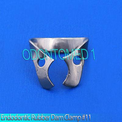 6 Endodontic Rubber Dam Clamp 11 Dental Instruments