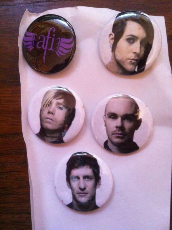 AFI buttons/pins Davey Havok band A FIRE INSIDE