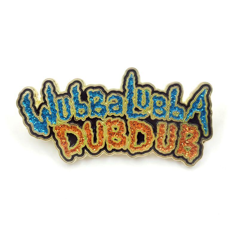 Rick and Morty Wubba Lubba Dub Dub Enamel Pin Festival Hat and Lapel Heady