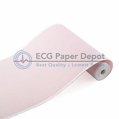 Ecg Ekg Thermal Paper Bionet Ekg-gp Cardiocare 2000 Cardiotouch 3000 5 Pack