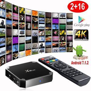 X96 Mini S905W 2GB 16GB TV BOX Android 7.1 Quad Core Smart Media Player WIFI 4K