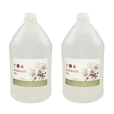 Therapeutic  Hydrating Natural Body Spa Massage Oil Unscented Bottles- 2 (Hydrating Massage)