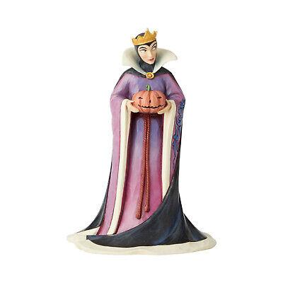 Disney Halloween Figurines (Disney Traditions 2019 Jim Shore Evil Queen Poison Pumpkin Halloween Figurine)
