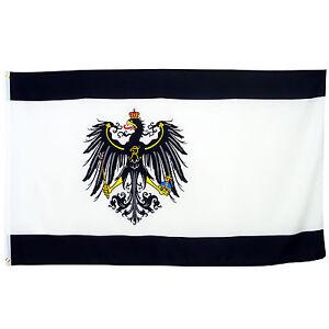 Fahne Königreich Preußen 90 x 150 cm Flagge Preußen Adler