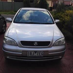 2002 Holden Astra Hatchback Caroline Springs Melton Area Preview