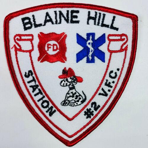 Blaine Hill Volunteer Fire Company 2 Elizabeth Township Pennsylvania PA Patch K2