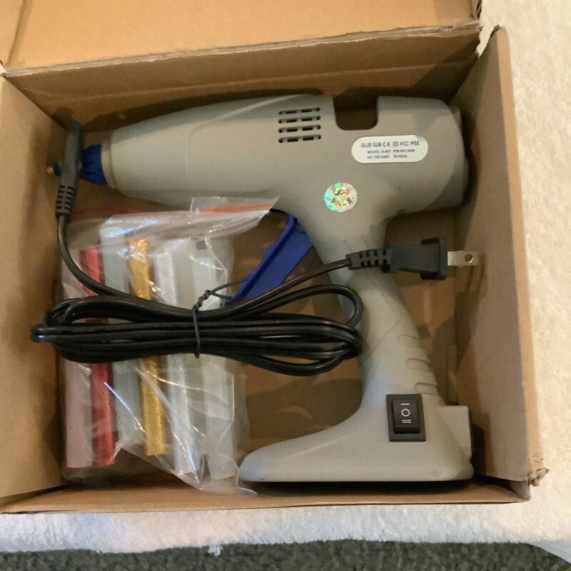 Chandler Tool Commercial Glue Gun - 100 Watt - 25 Hot Glue Sticks & Base stand