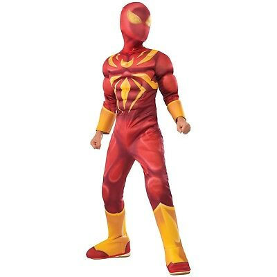 Baby Iron Man Costume (NEW Iron Spider Deluxe Muscle Chest Sz SM toddler/infant 3-4 years old)