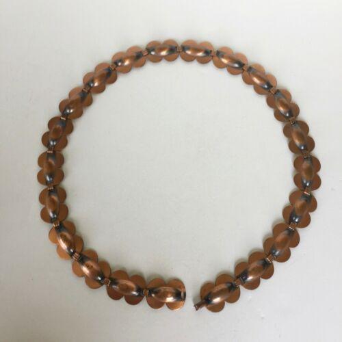 """Vtg Renoir copper belt 31"""" mid century modern 1950s 60s"""