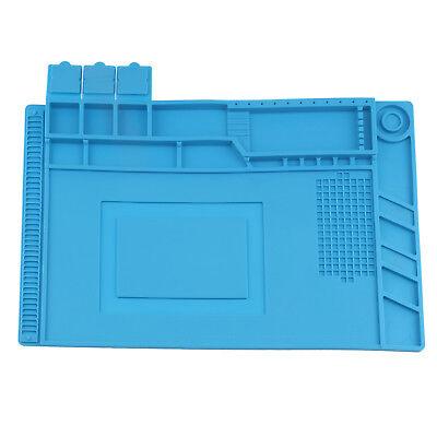 Magnetic Heat Insulation Repair Pad Soldering Silicone Anti Static Desk Mat