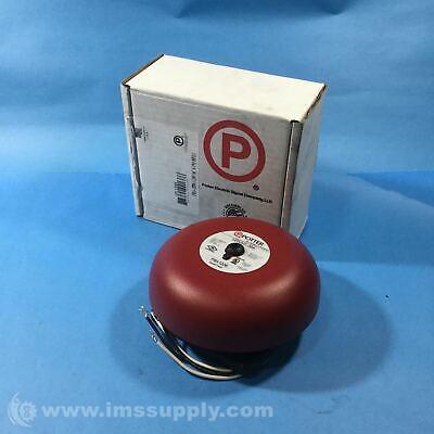 Potter Electric Pba-1206 Vibrating Ac Powered Bell Pba Series Fnob