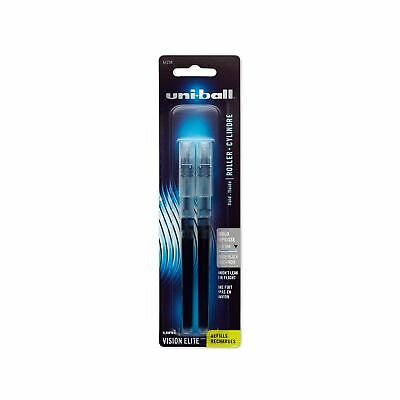 Uni-ball Vision Elite Blx Infusion Rollerball Pen Refills Bold Point 0.8mm...