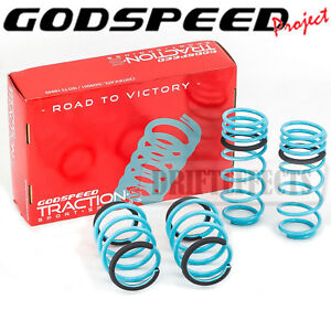 GODSPEED TRACTION-S™ PERFORMANCE LOWERING SPRINGS FOR HYUNDAI VELOSTER 2011-17