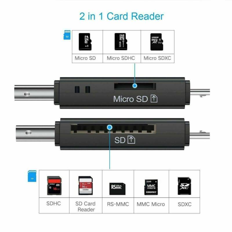 Micro USB OTG to USB Card Reader Phone Tablet