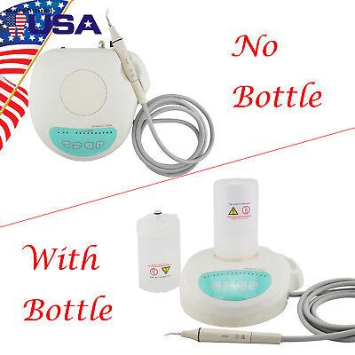 Us Portable Dental Ultrasonic Piezo Scaler Handpiece Tips Bottles Fit For Ems