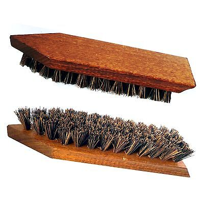 Schmutzbürste / Reinigungsbürste mit Griffkehle, Kokosfasern , Schuhbürste