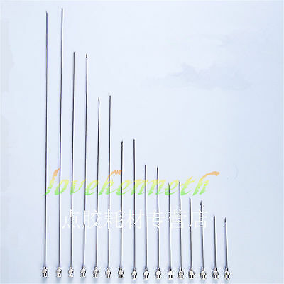 2.0mm 14g 304 Stainless Steel Syringe Needle Dispensing Needles 60-200mm Long