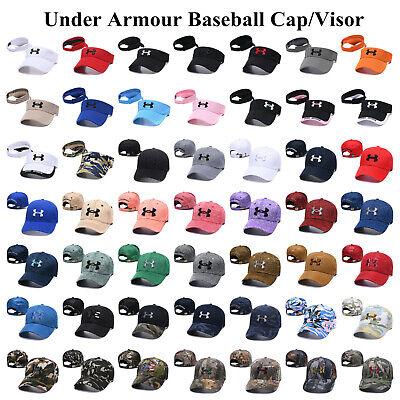 Embroidered Under Armour Baseball Cap Adjustable Sun Visor Golf Hat Men Women  ()