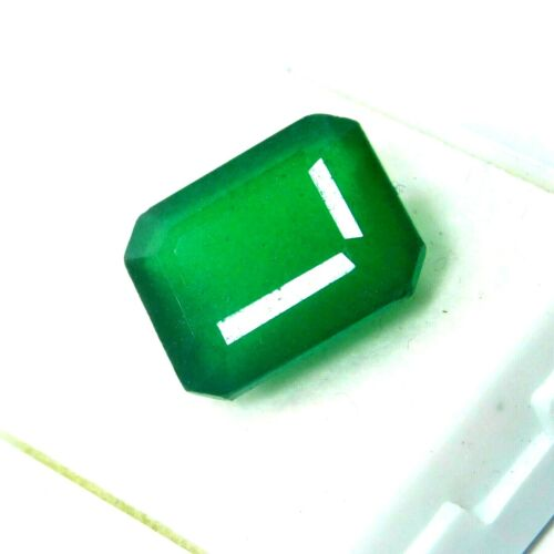 9 Ct Natural Untreated Green Colombian Emerald Shape Certified Loose Gemstones