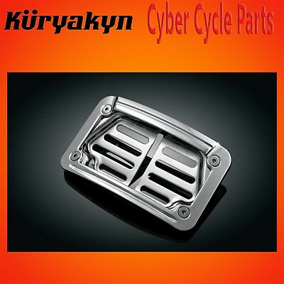 Kuryakyn Chrome LED Laydown Curved License Plate Frame 7688